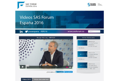Tinamica in the SAS Forum Spain 2016