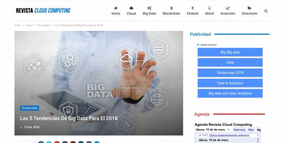 The 5 Big Data trends for 2018