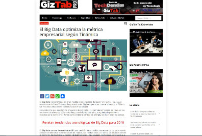 El Big Data optimiza la métrica empresarial según Tinámica