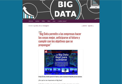 Big data allows companies to do things better