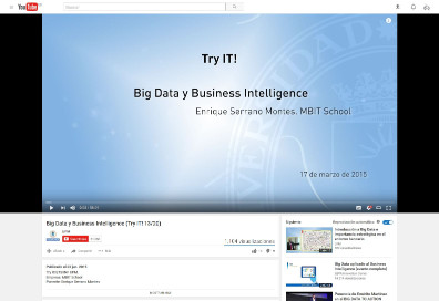 Big Data y Business Intelligence (Try IT! 13/20)
