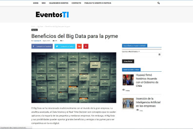 Beneficios del Big Data para la pyme